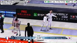 Wuxi 2018 Fencing World Championships we t08 FRA vs KOR