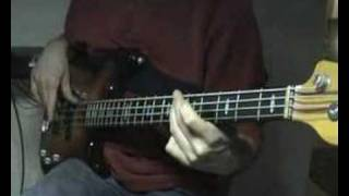 The Doobie Brothers - Long Train Running -- Bass Cover