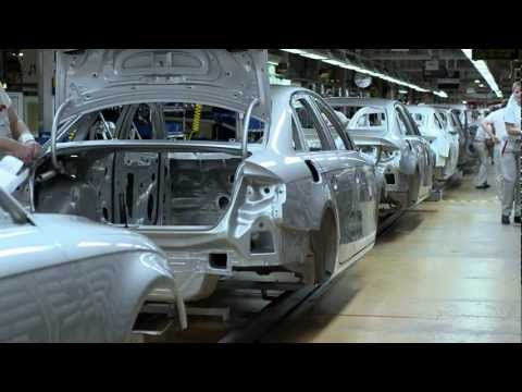 Audi A4 Produktion in Ingolstadt
