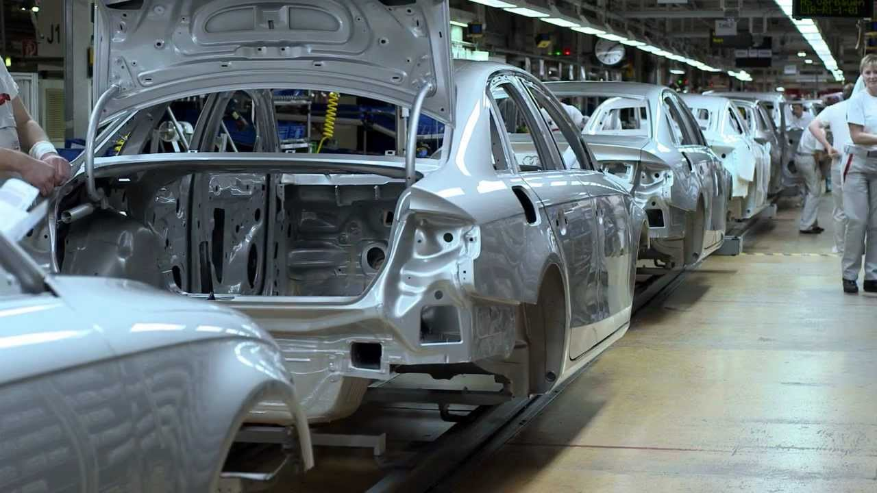 audi a4 produktion in ingolstadt youtube