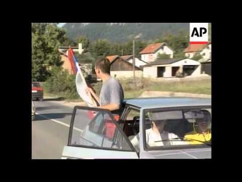 Bosnia - Celebrations in Pale