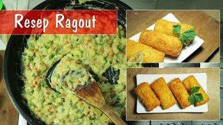 Resep Ragout - Cara Membuat Ragout - (Isian Risoles, Pastel dll) | Dapur Sekilas Info