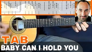 "Guitar Cover / Tab ""Baby Can I Hold You"" by MLR-Guitar"