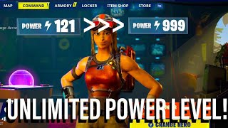 'NEW' UNLIMITED POWER LEVEL GLITCH à Fortnite Save The World! Jouez à des missions de haut niveau ! Saison X