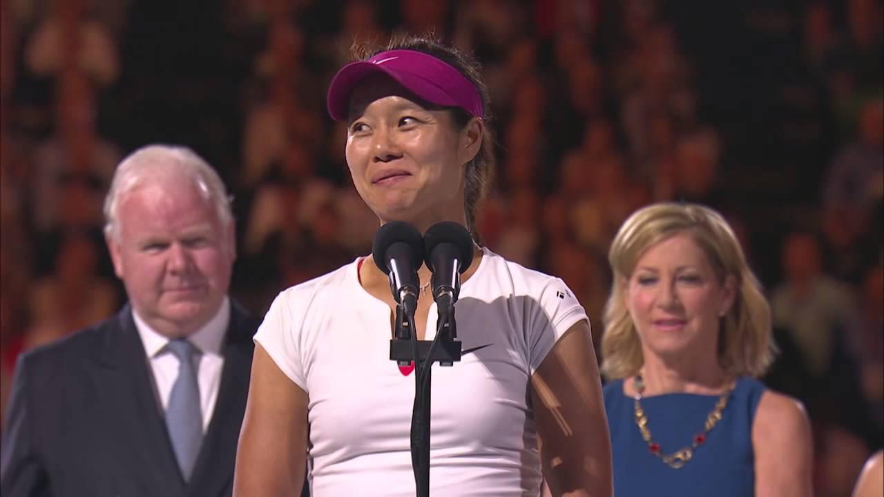 Li Na's Brilliant Winner's Speech | Australian Open 2014