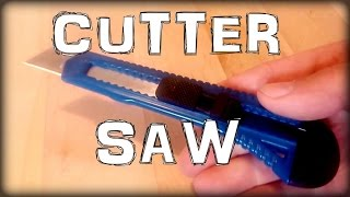 How to make a cutter saw - Life Hacks