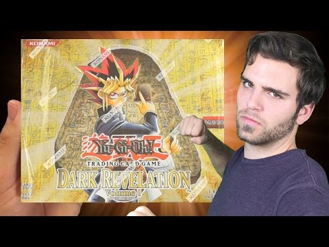 YuGiOh MADNESS! Dark Revelation 1 CLASSIC Box Opening! The Battle of DARKNESS