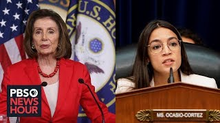 Pelosi and Ocasio-Cortez expose Democrats' big divide