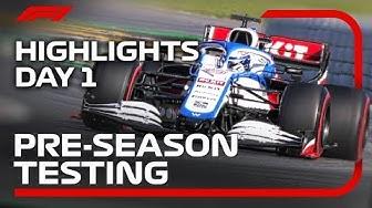 2020 Pre-Season Testing: Day 1 Highlights!