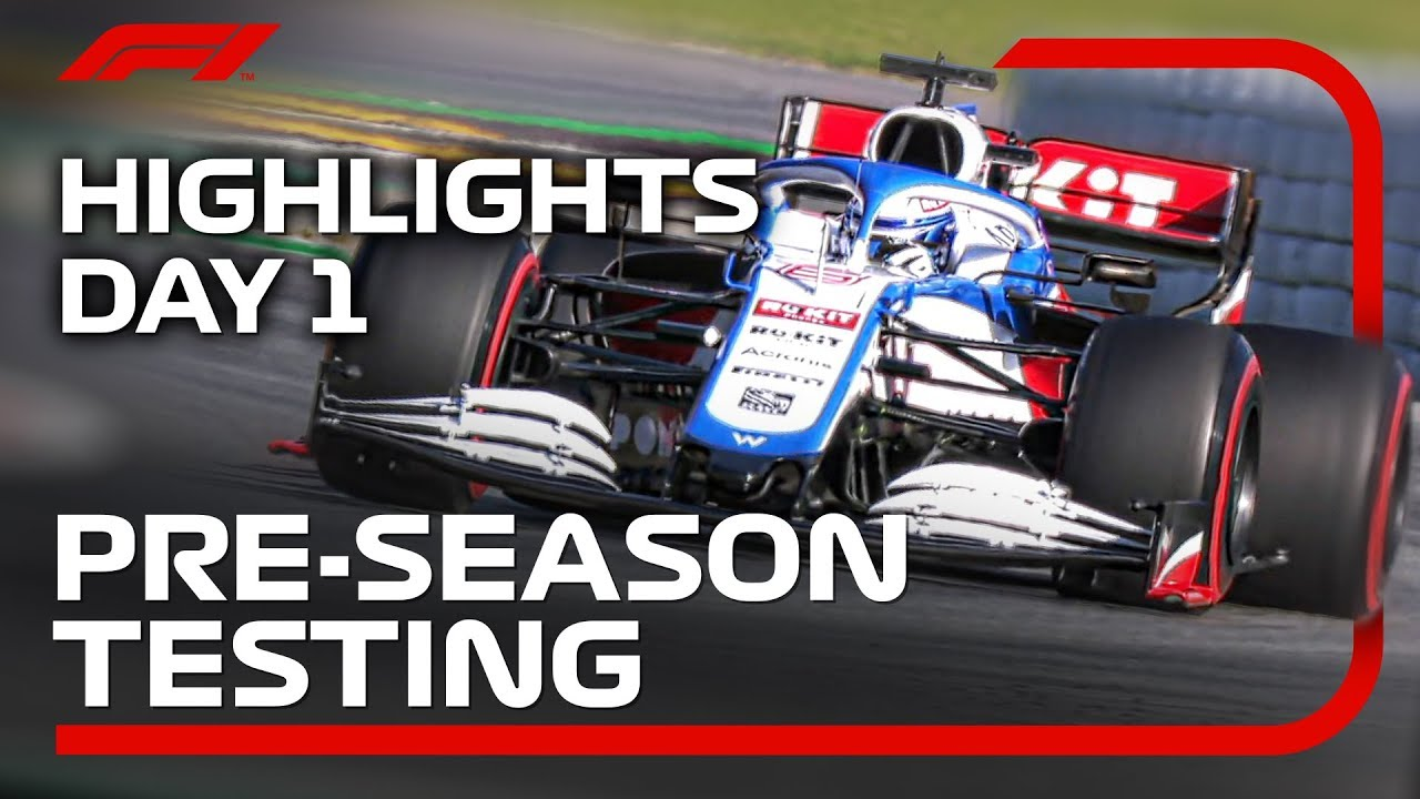 F1 Testing Days 1 & 2