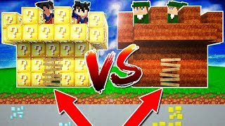 passagem secreta no castelo de lava vs castelo de agua no minecraft
