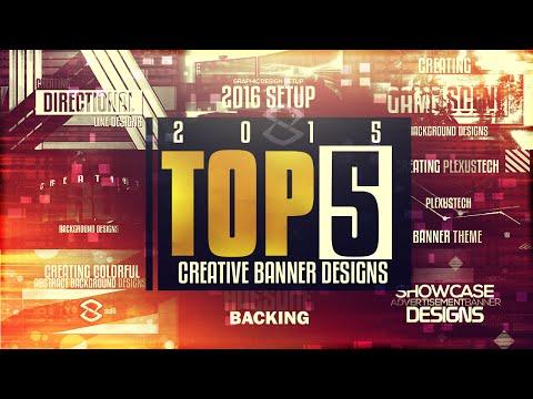 Top 5 : Creative Banner Design Tutorials