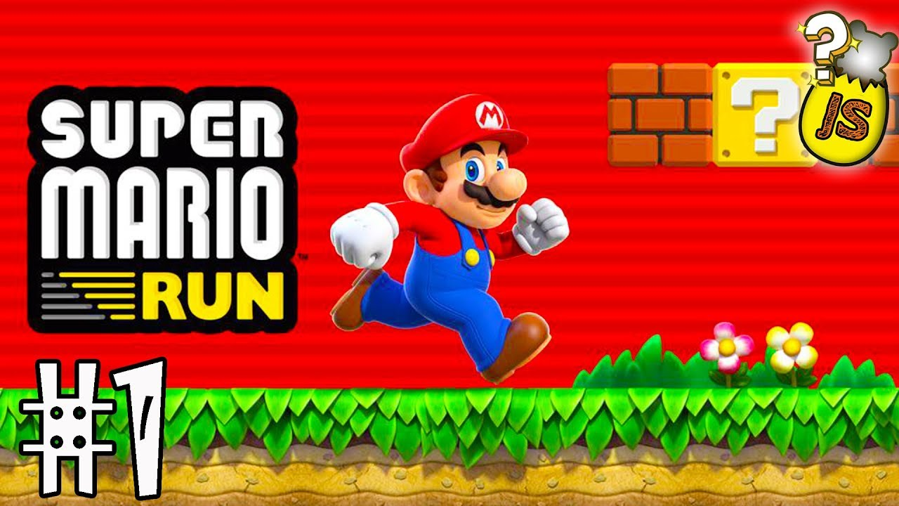 Super Mario Run Vídeos De Juegos De Mario Bros En Español Ios Android App 1 Youtube
