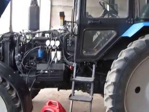 Кондиционер на трактор МТЗ
