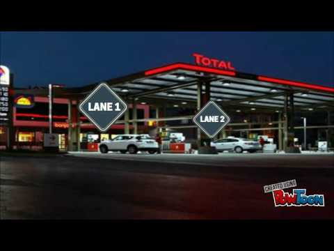 TOTAL Future Gas Station - Finale