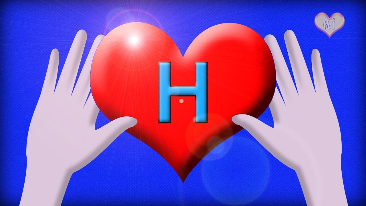 videos for babies and toddlers learn the letter h with hands and hearts youtube