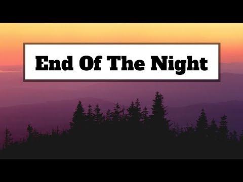 Danny Avila - End Of The Night (Lyrics) | Panda Music
