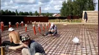 Вязание арматуры крючком, тёплый пол, шведская плита(, 2016-07-13T02:44:23.000Z)