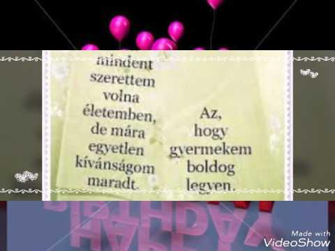 boldog születésnapot lányomnak Lányomnak Születésnapja alkalmából. Szeretlek! ❤❤❤   YouTube boldog születésnapot lányomnak