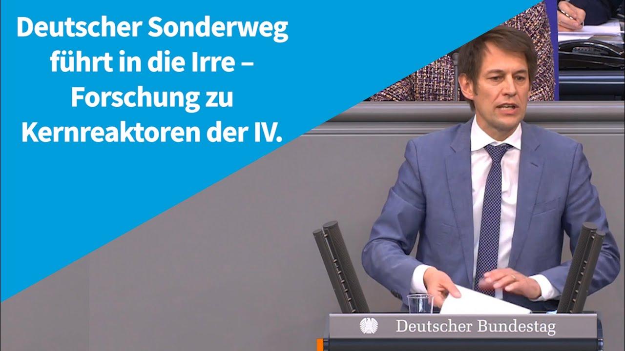 14.04.2021  Deutscher Sonderweg führt in die Irre – Forschung zu Kernreaktoren der IV.