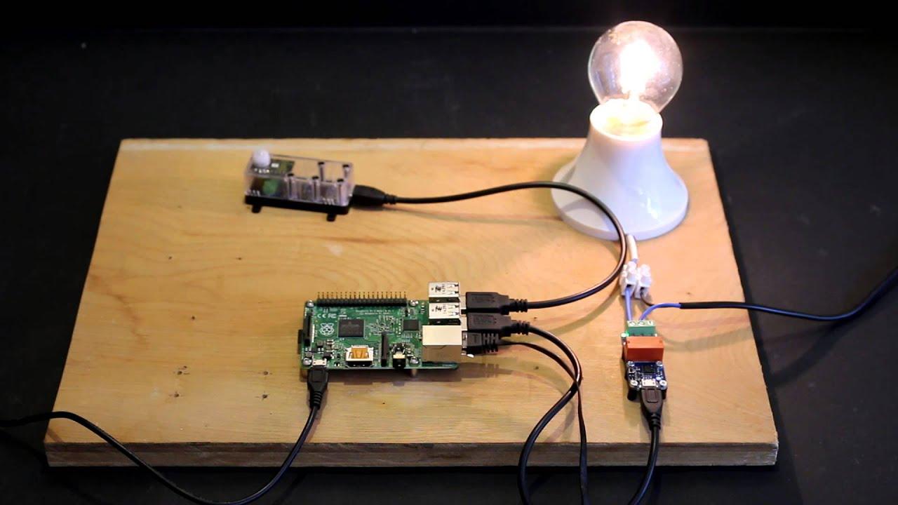 pir sensor basic test youtube rh youtube com DIY Infrared Sensor Circuit LED Sensor Circuit