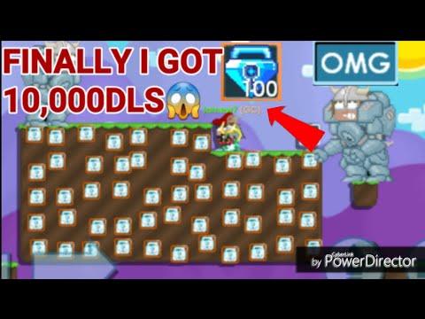 ( FINALLY I GOT 10,000 DLS ) Road To 10,000 DLS #31! OMG!! - Growtopia