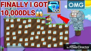 ( FINALLY I GOT 10,000 DLS ) Road To 10,000 DLS #31! OMG!! - Growtopia