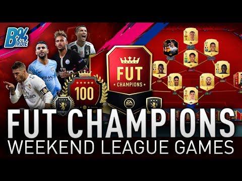 AIMING FOR ELITE - FUT CHAMPIONS WEEKEND LEAGUE GAMES - FIFA 19 FUT CHAMPS thumbnail