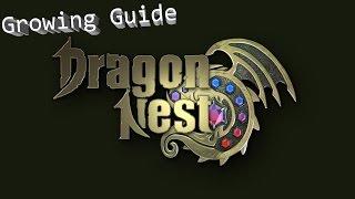 Dragon Nest Korea Growing Guide 1-93 lvl Гайд по прокачке 1-93 уровень драгон нест