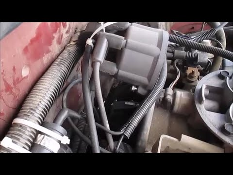 replace  distributor cap  rotor dodge dakota
