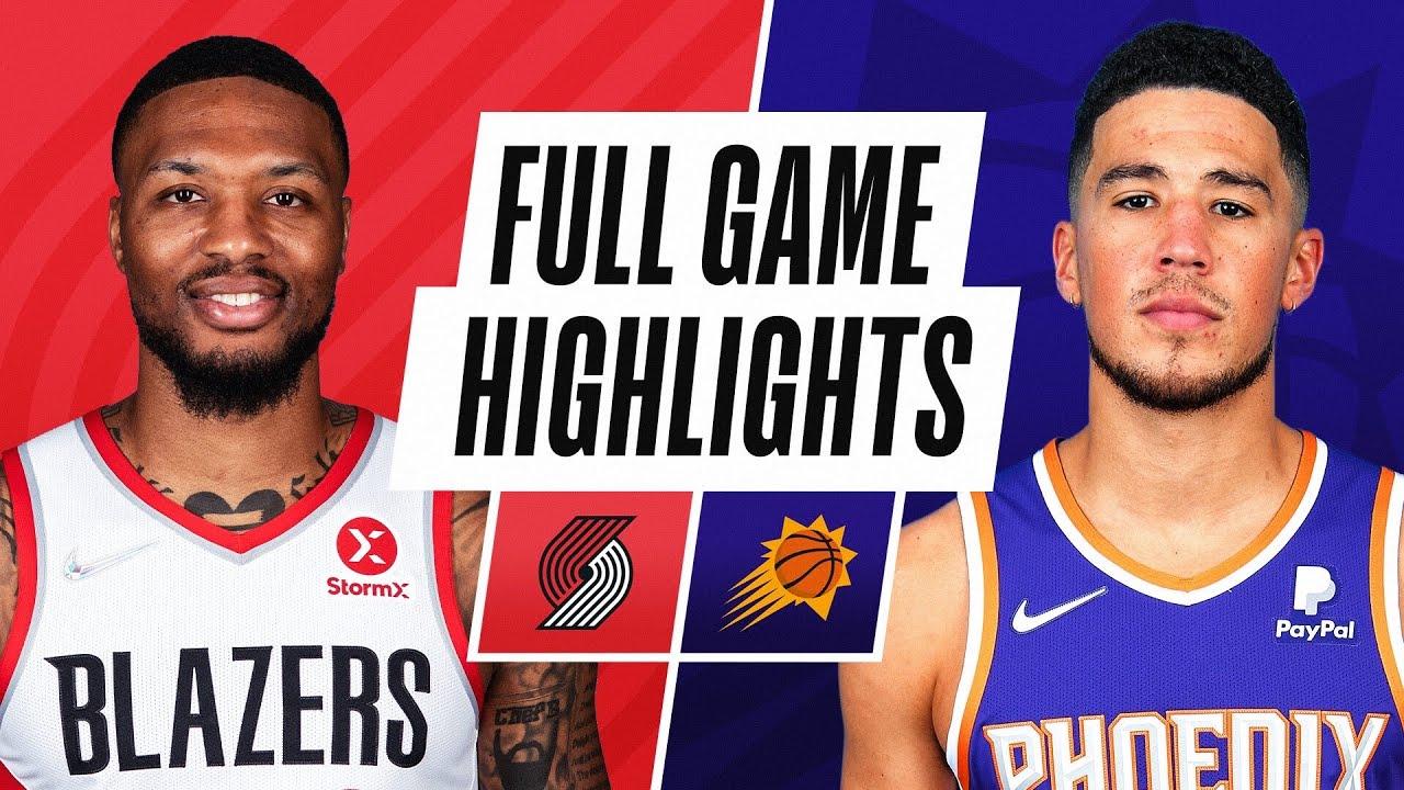 TRAIL BLAZERS at SUNS | NBA PRESEASON FULL GAME HIGHLIGHTS