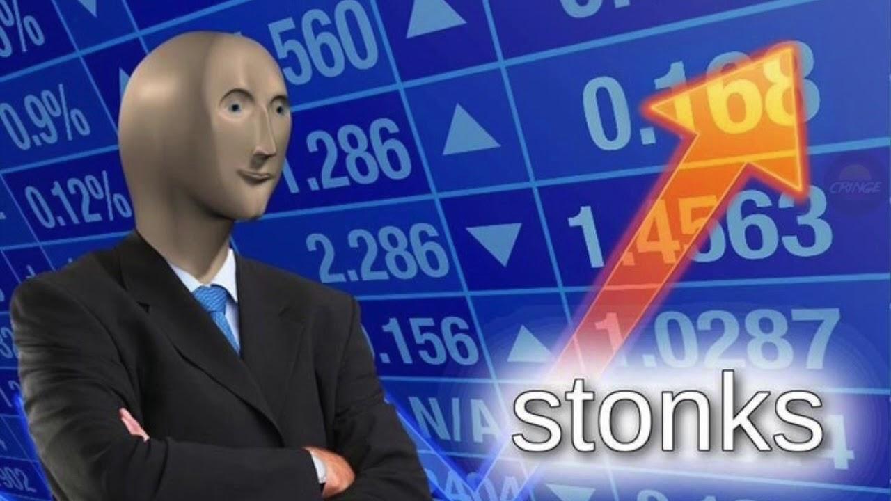 Stonks - мем из прошлого - история мема Stonks