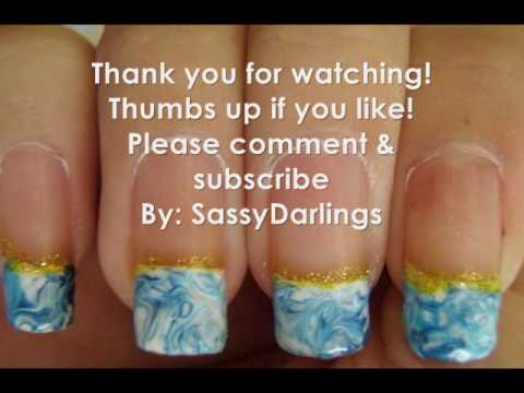 Cool Pearlescent Nail Polish Tall Dr Remedy Nail Polish Square Art Nails Hours Fashion Nail Polish Youthful Blue And Green Nail Art BrownHow To Start My Own Nail Polish Line Blue Marble Design Tutorial [no Water]   YouTube