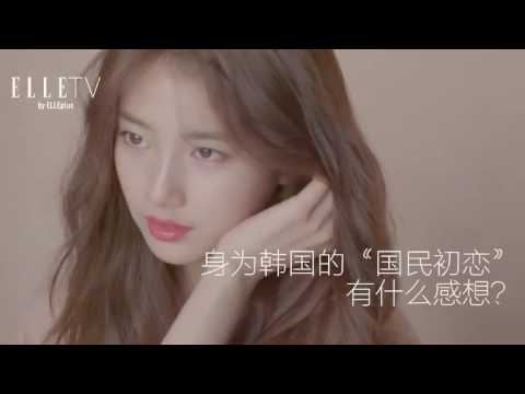 Suzy(수지, 秀智) - ELLE CHINA 2016 September Making Film + Interview