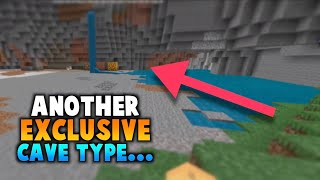 Bean Blocks & ANOTHER Bedrock Exclusive Cave Type?