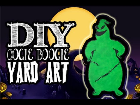 4 Foot Tall Oogie Boogie Yard Art