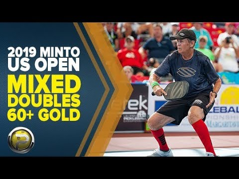 Mixed Doubles 60+ GOLD - 2019 Minto US Open Pickleball Championships