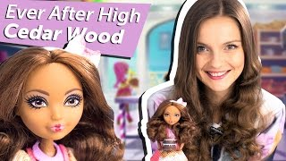 Cedar Wood Sugar Coated (Сидар Вуд Покрытые Сахаром) Ever After High Обзор/Review, CHW46