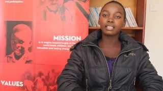 Precious, our youth ambassador from Zambia speaks about her hopes for 2030