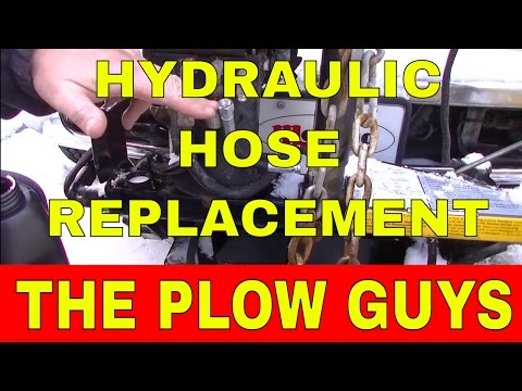 The Plow Guys, Fisher Hydraulic Hose Replacement