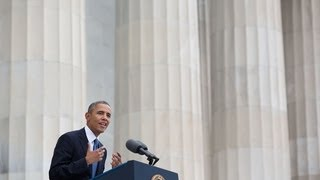 President Obama Marks the 50th Anniversary of the March on Washington
