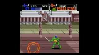 Teenage Mutant Ninja Turtles: The Hyperstone Heist (Genesis) - Longplay