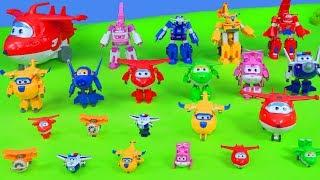 SUPER WINGS Unboxing: Alle Spielzeugautos von Feuerwehrmann Jet, Donnie & mehr Spielzeug für Kinder