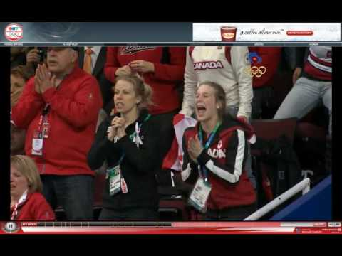 The Best Olympic Moment: Marianne St-Gelais cheering for Charles Hamelin's 500m Gold