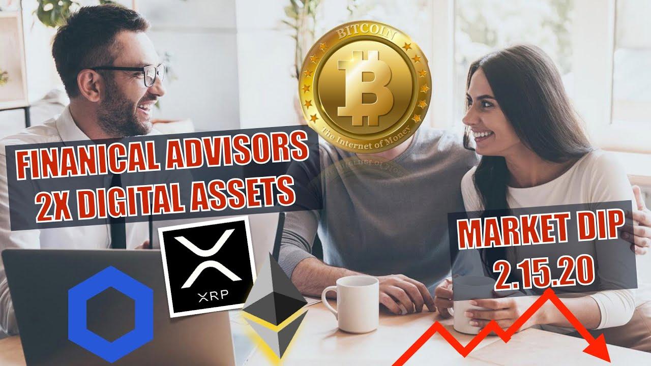 ?BREAKING NEWS! Crypto Market DROPS! Financial Advisors For Institutions turn BULLISH + CHAINLINK ?