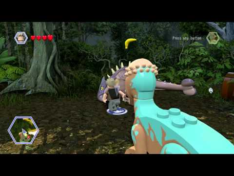 LEGO Jurassic World - All Dinosaur Heal Locations