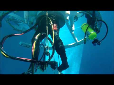 saturation class first dive