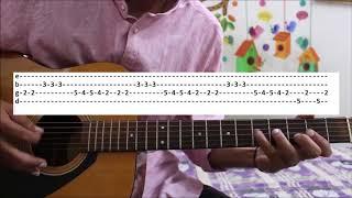 Dilbar Dilbar - Satyameva Jayate - GUITAR TABS LEADS LESSON COVER - JOHN NEHA KAKKAR