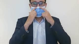 Carlos Pinto del Instituto Nacional de Salud te explica el uso correcto de los tapabocas