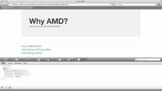 Why AMD? - Part 1